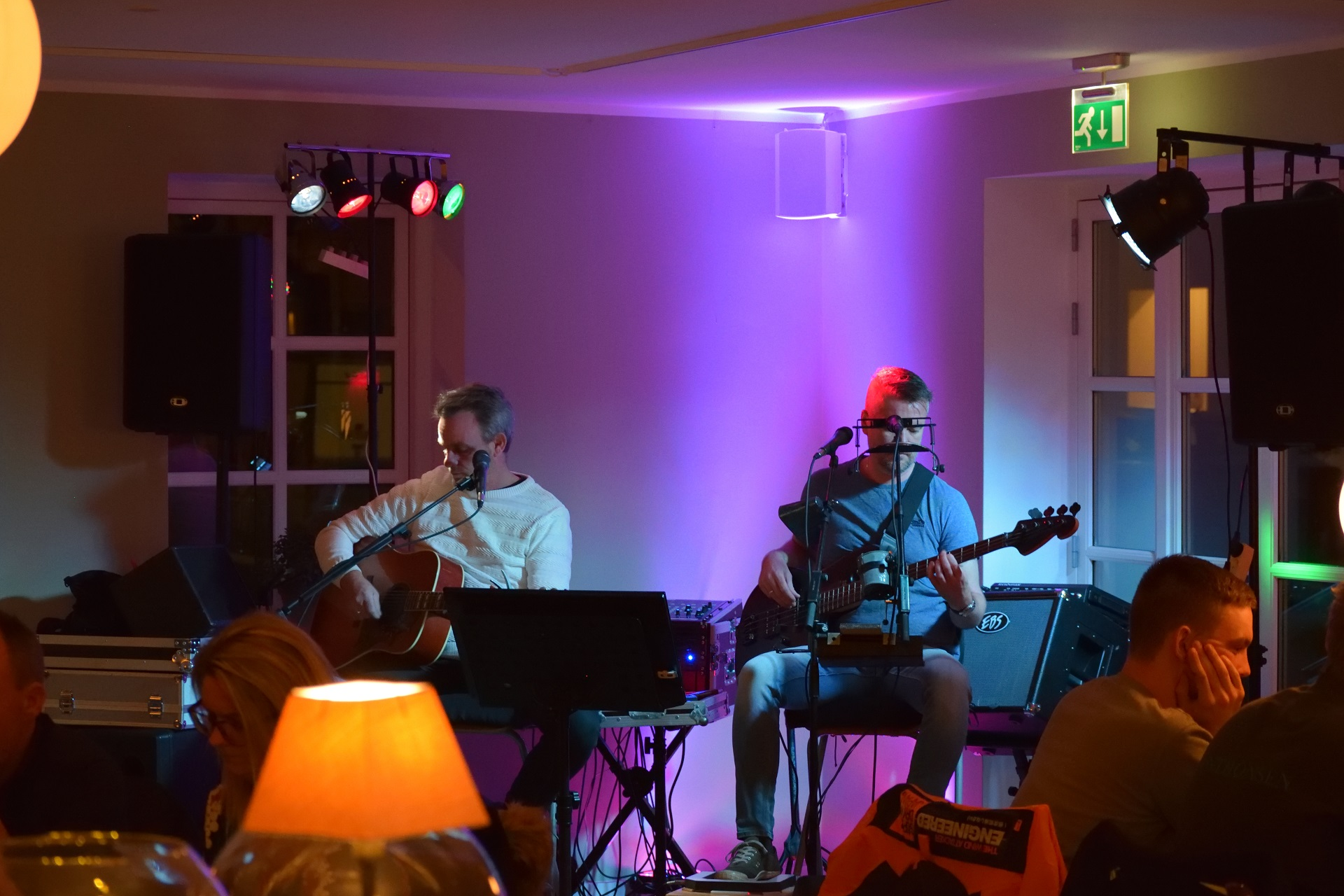 Claus & Klaus på Hjørnet i Dronninglund